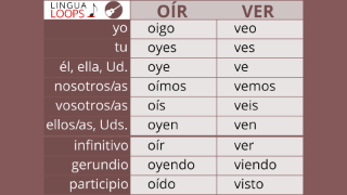 Lingua Loops Spanish Conjugation Songs
